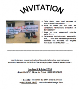 invitation SPIP Bourges